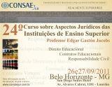 24º Curso sobre Aspectos Jurídicos das IES
