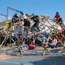 Estruturas com Bambus e Cabos Investigadas no Mestrado em Artes & Design da PUC-Rio, que concluí no período de 2008/2010